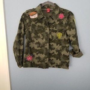 Camouflage Girl's Short